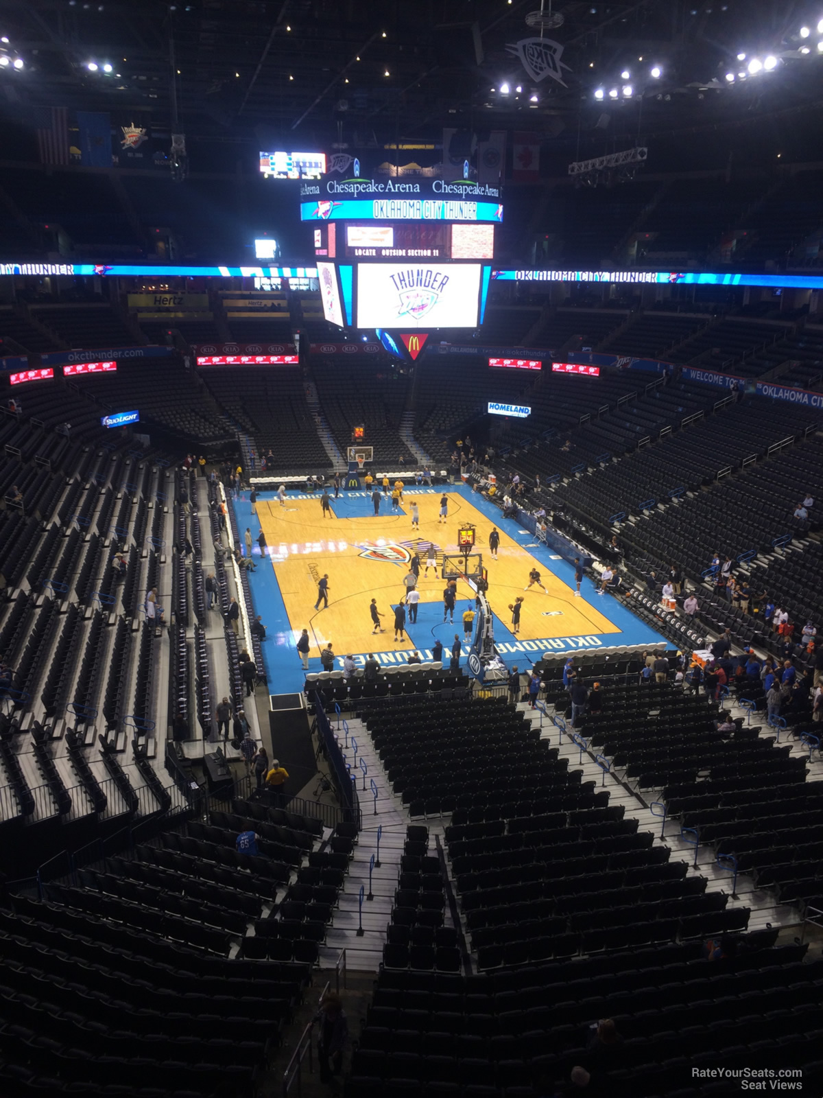 Chesapeake Energy Arena Section 302 Oklahoma City