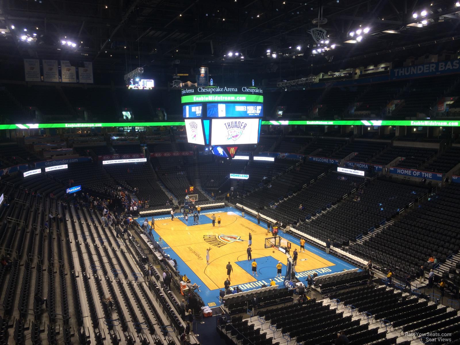 Chesapeake Energy Arena Section 318 Oklahoma City