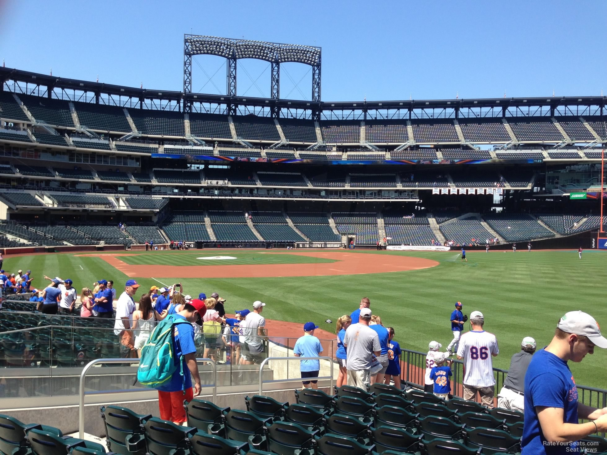 Citi Field Section 106 - RateYourSeats.com