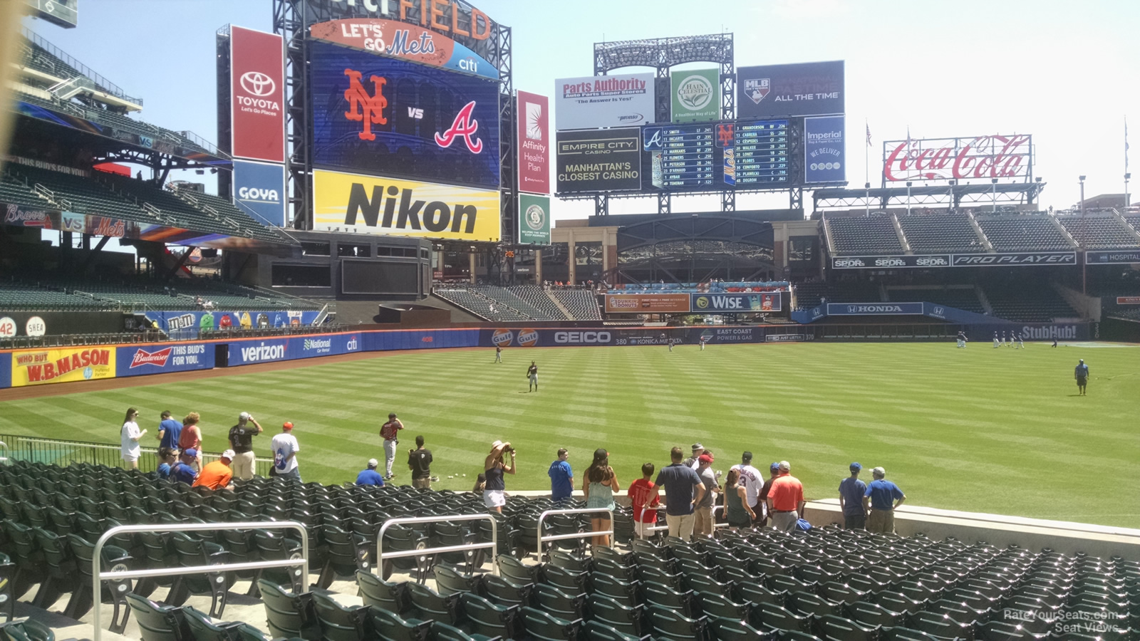 Citi Field Section 126 Rateyourseats Com