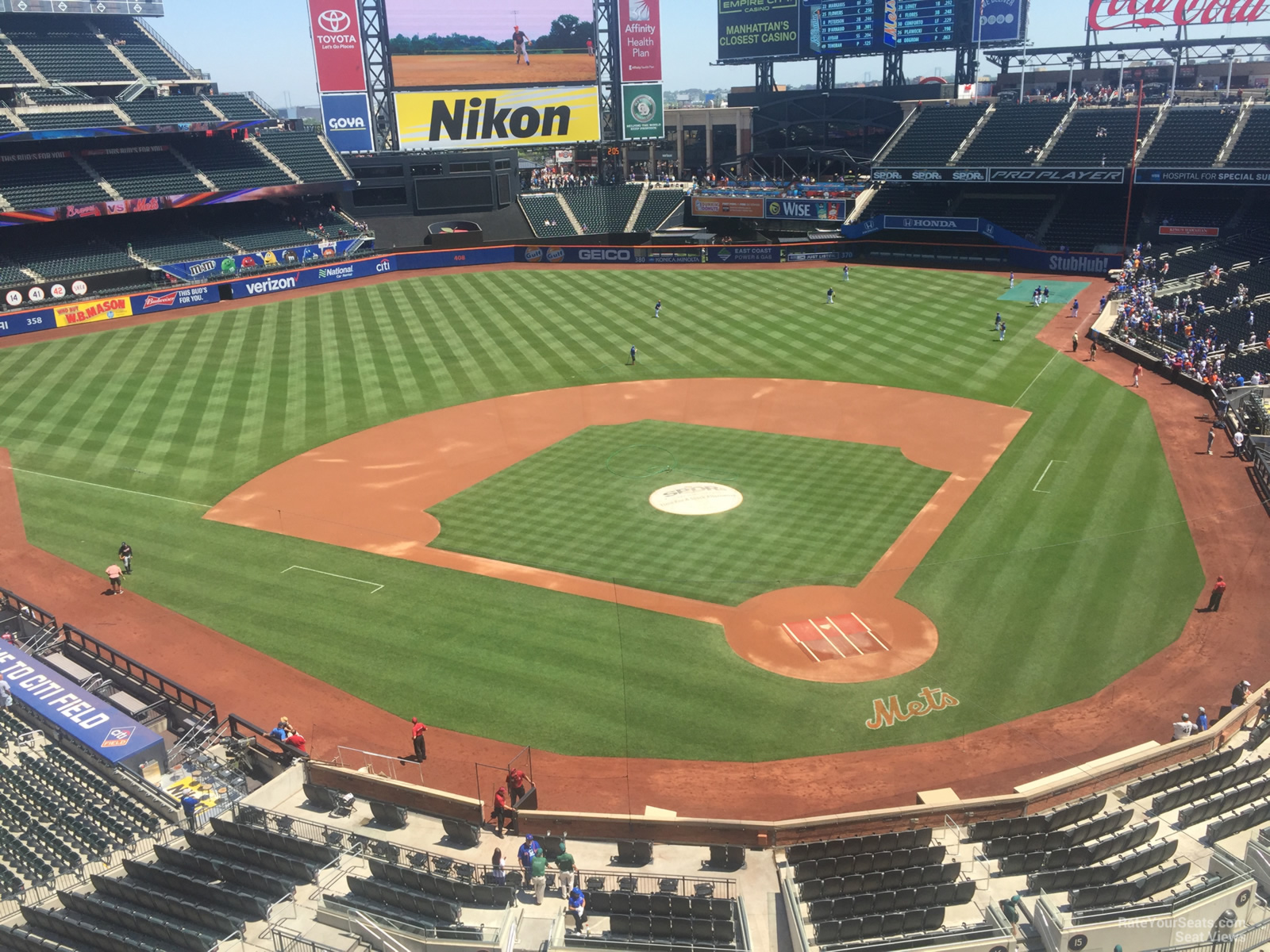 Citi Field Section 417 - RateYourSeats.com