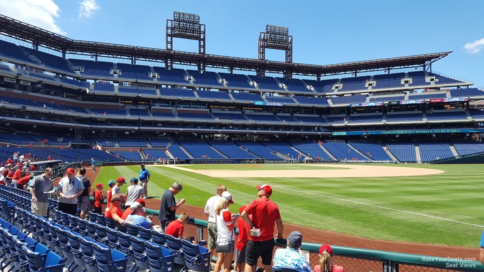 Citizens Bank Park Section 110 Philadelphia Phillies