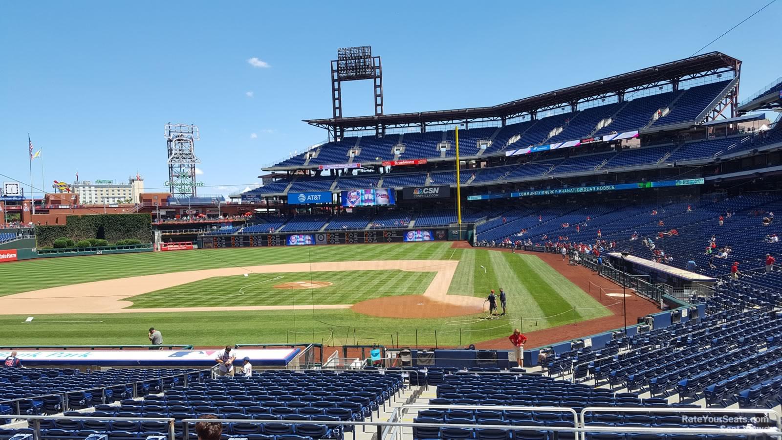 Citizens Bank Park Section 127 Philadelphia Phillies