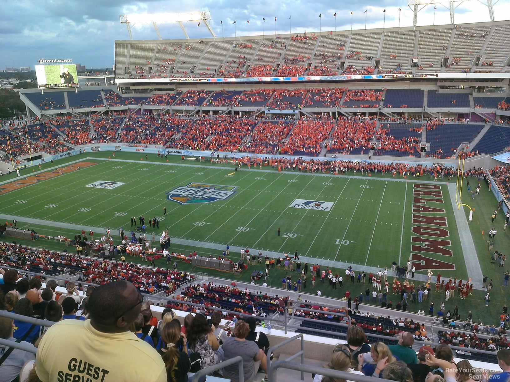 Camping World Stadium Section 231 Rateyourseats Com