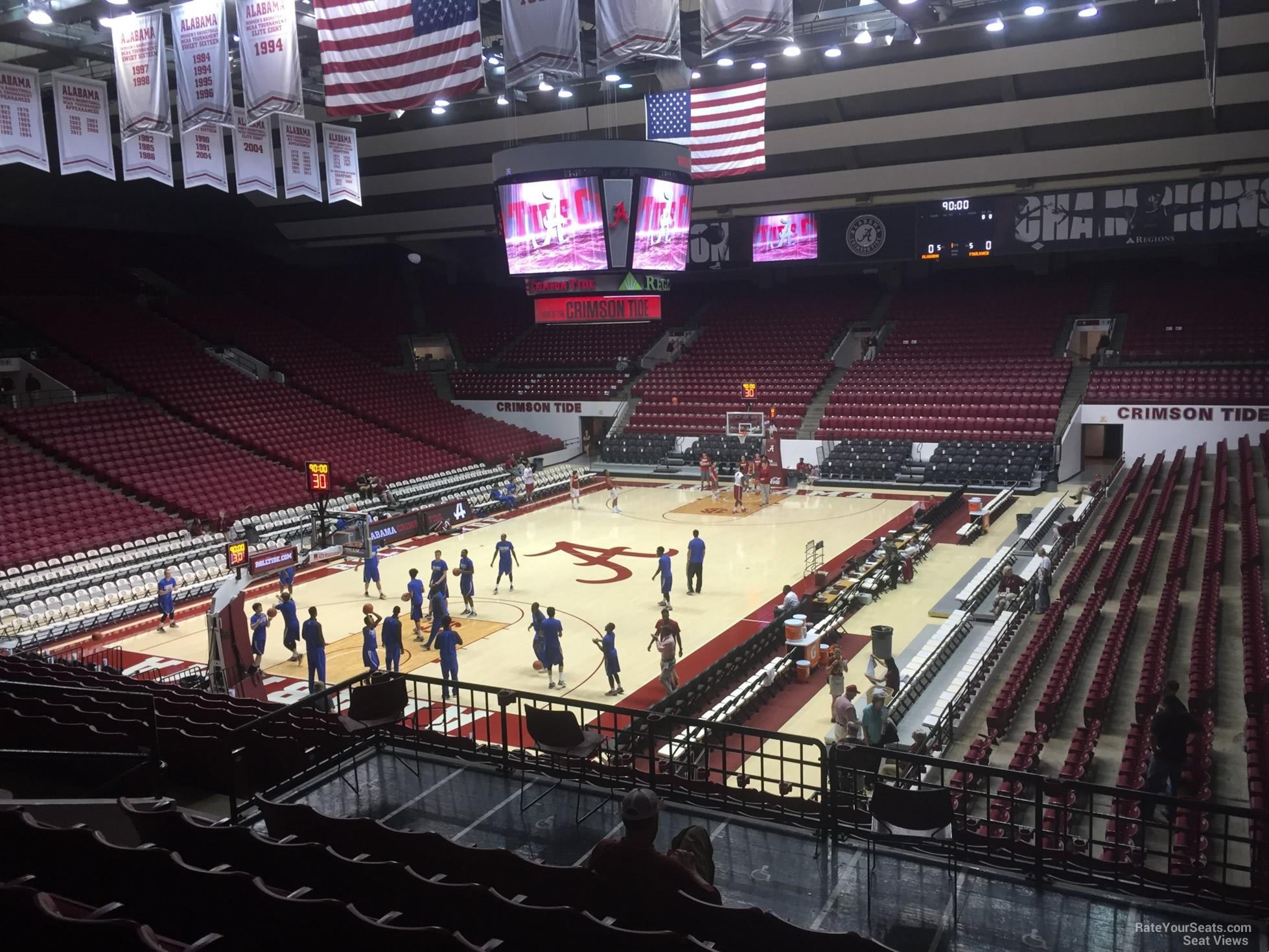 Coleman Coliseum Section I - RateYourSeats.com
