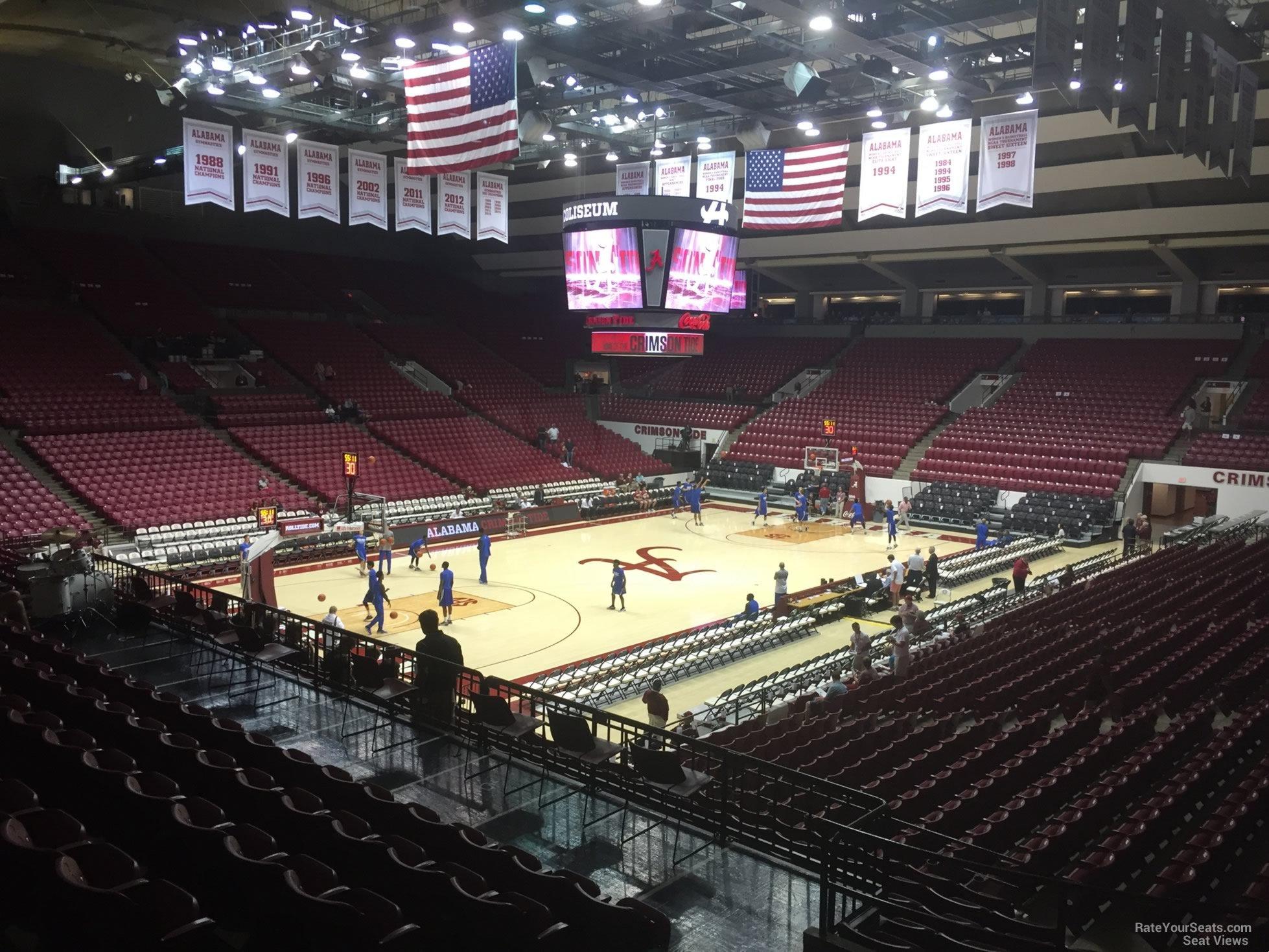 Coleman Coliseum Seating Alabama Crimson Tide Tickets