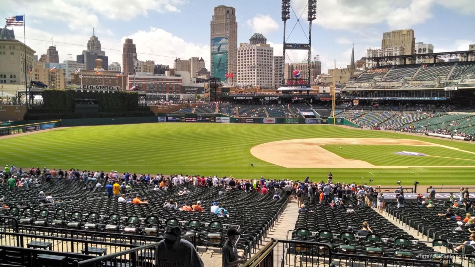Comerica Park Terrace 136 - Detroit Tigers - RateYourSeats.com