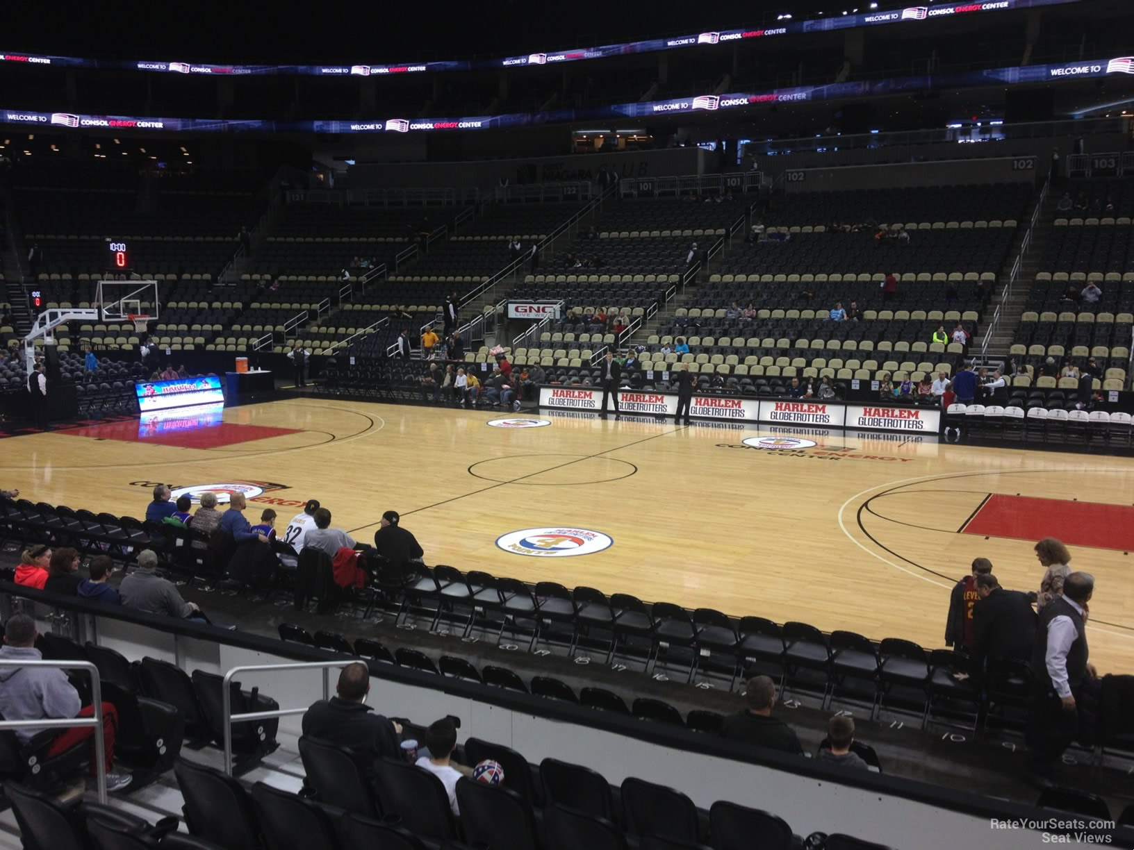 Ppg Paints Arena Section 111 Basketball Seating