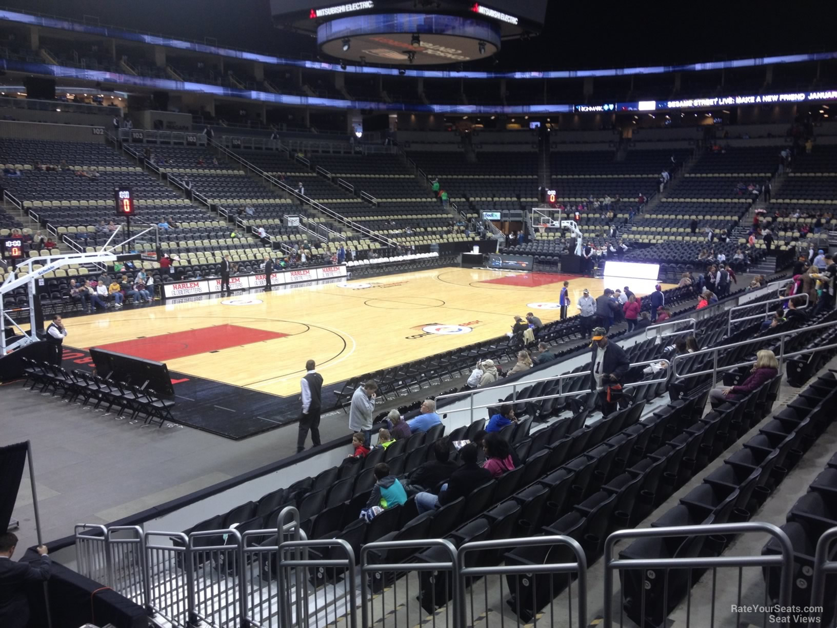 Ppg Paints Arena Section 115 Basketball Seating