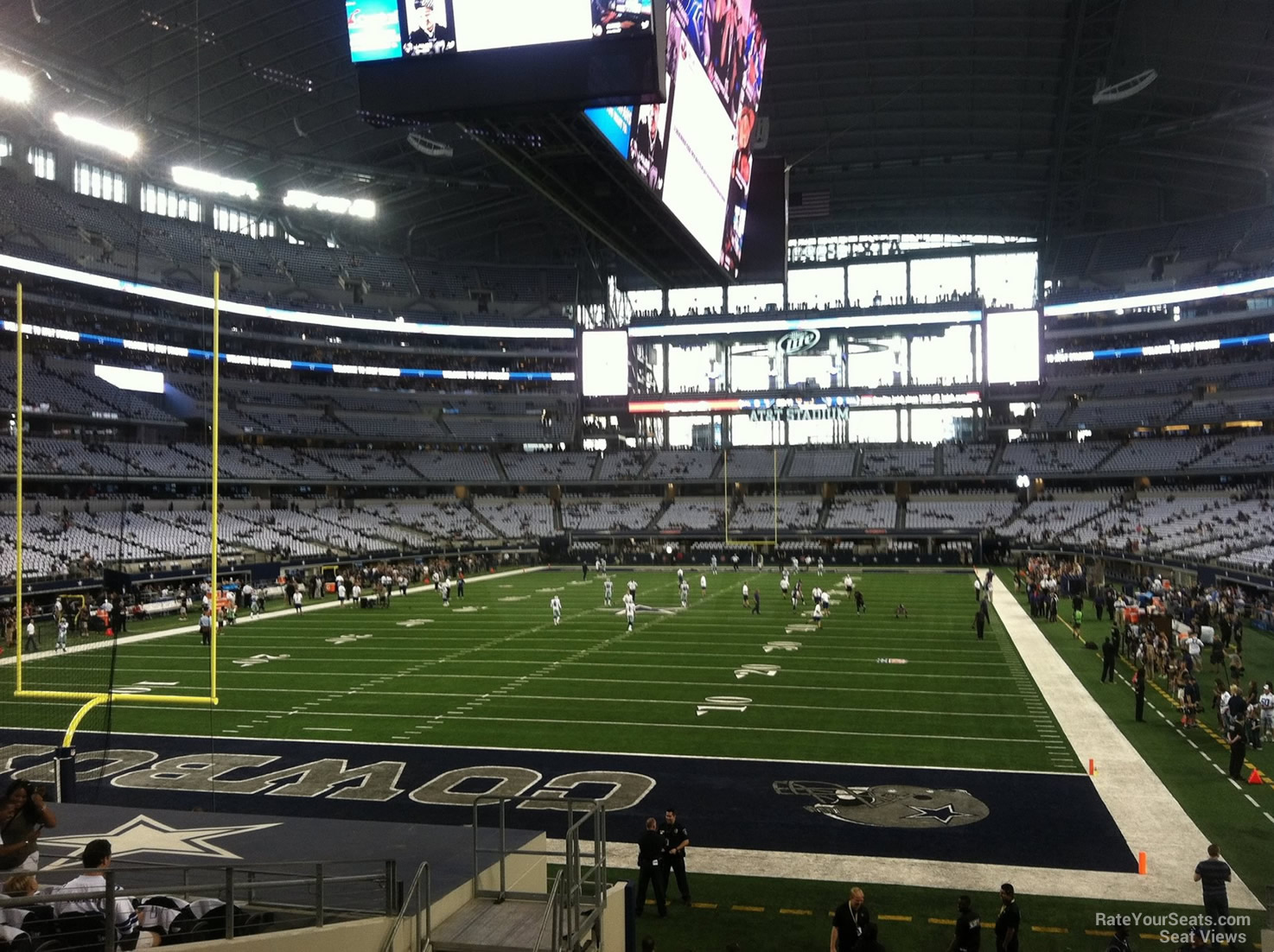 At Amp T Stadium Section 146 Dallas Cowboys Rateyourseats Com
