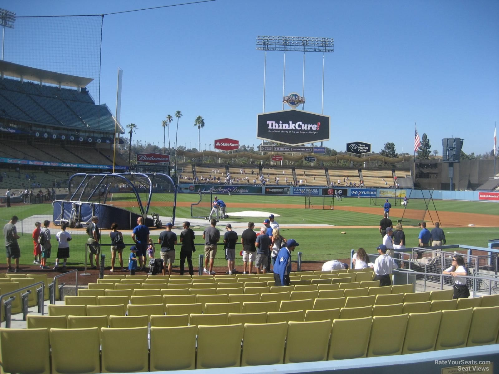 Dodger Stadium Section 10 - RateYourSeats.com