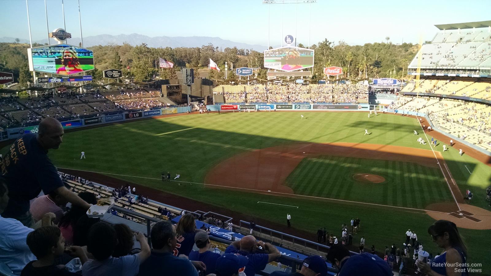 Dodger Stadium Infield Reserve 11 Rateyourseats Com