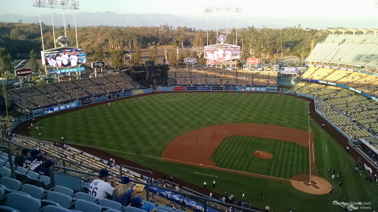 Dodger Stadium Top Deck 11 - RateYourSeats.com