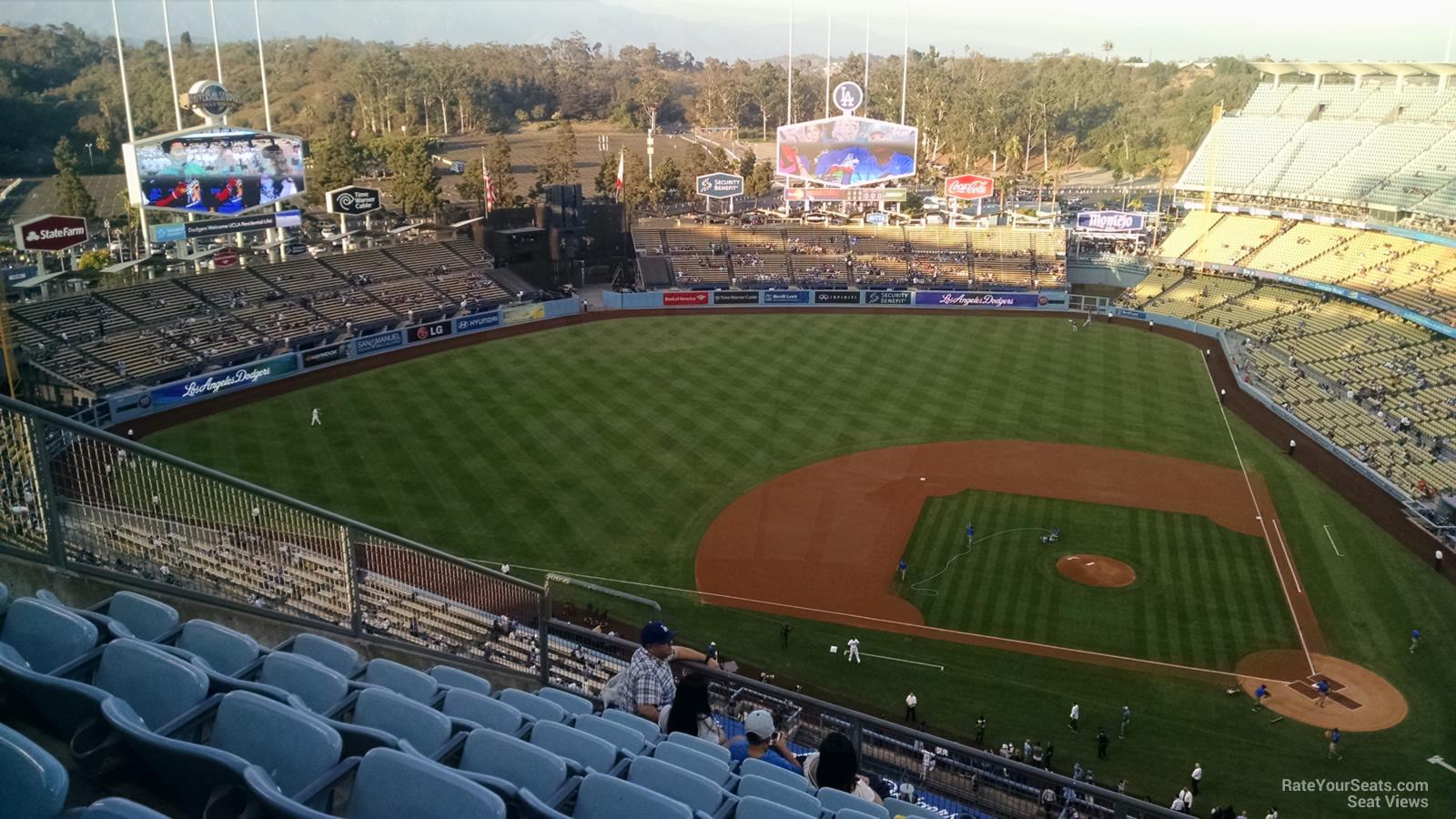 Dodger Stadium Top Deck 13 - RateYourSeats.com