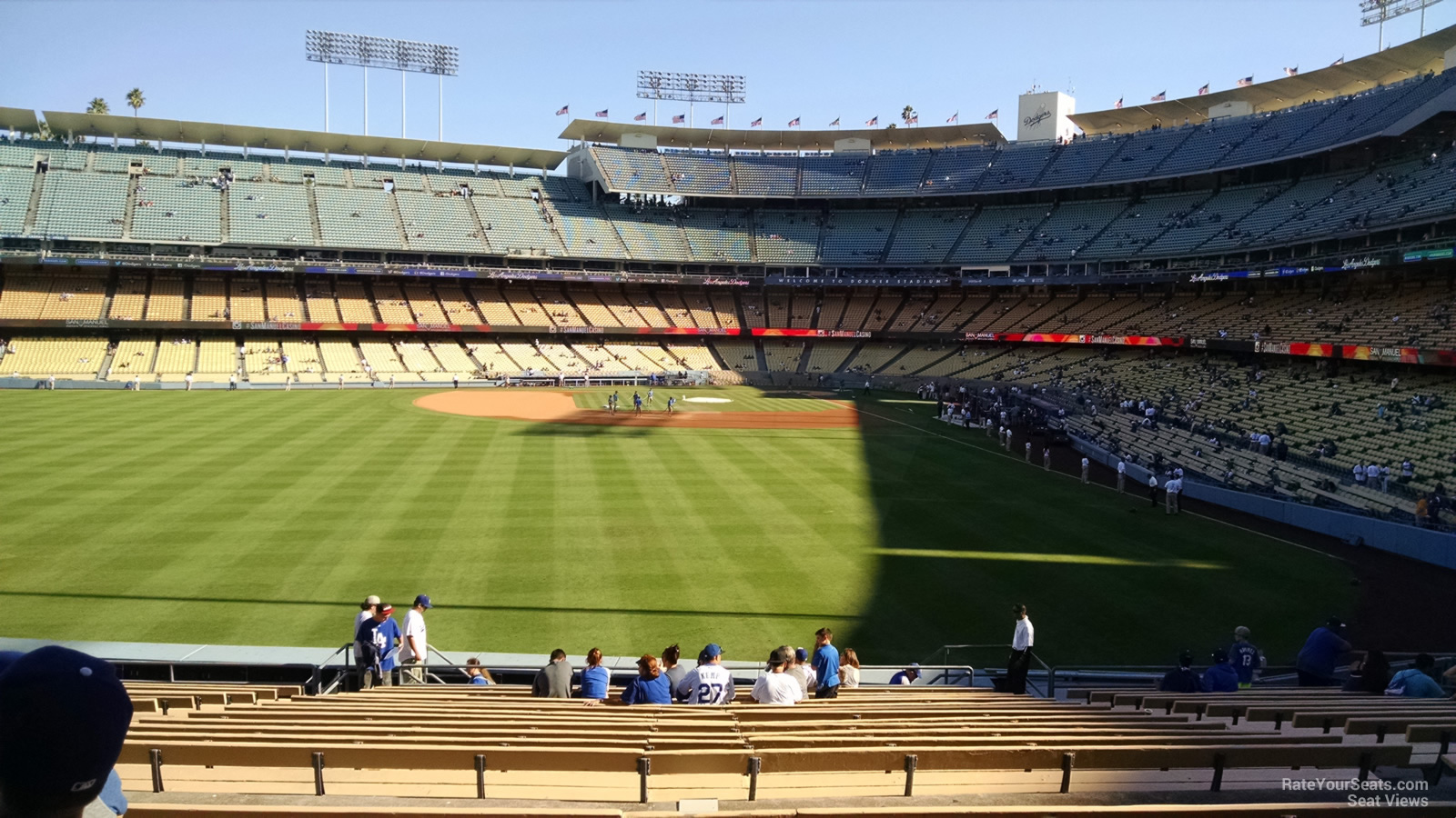Dodger Stadium Section 303 - RateYourSeats.com