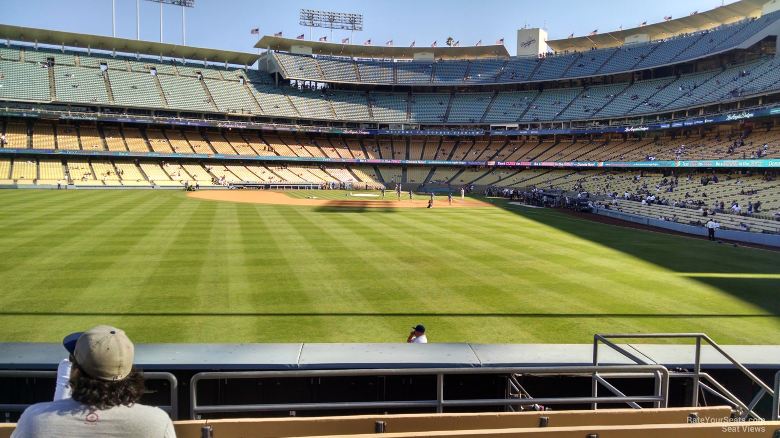 Dodger Stadium Section 305 - RateYourSeats.com