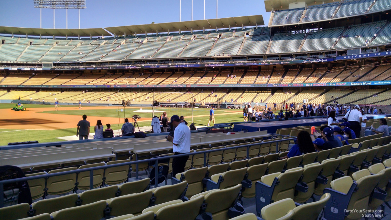 Dodger Stadium Section 31 - RateYourSeats.com