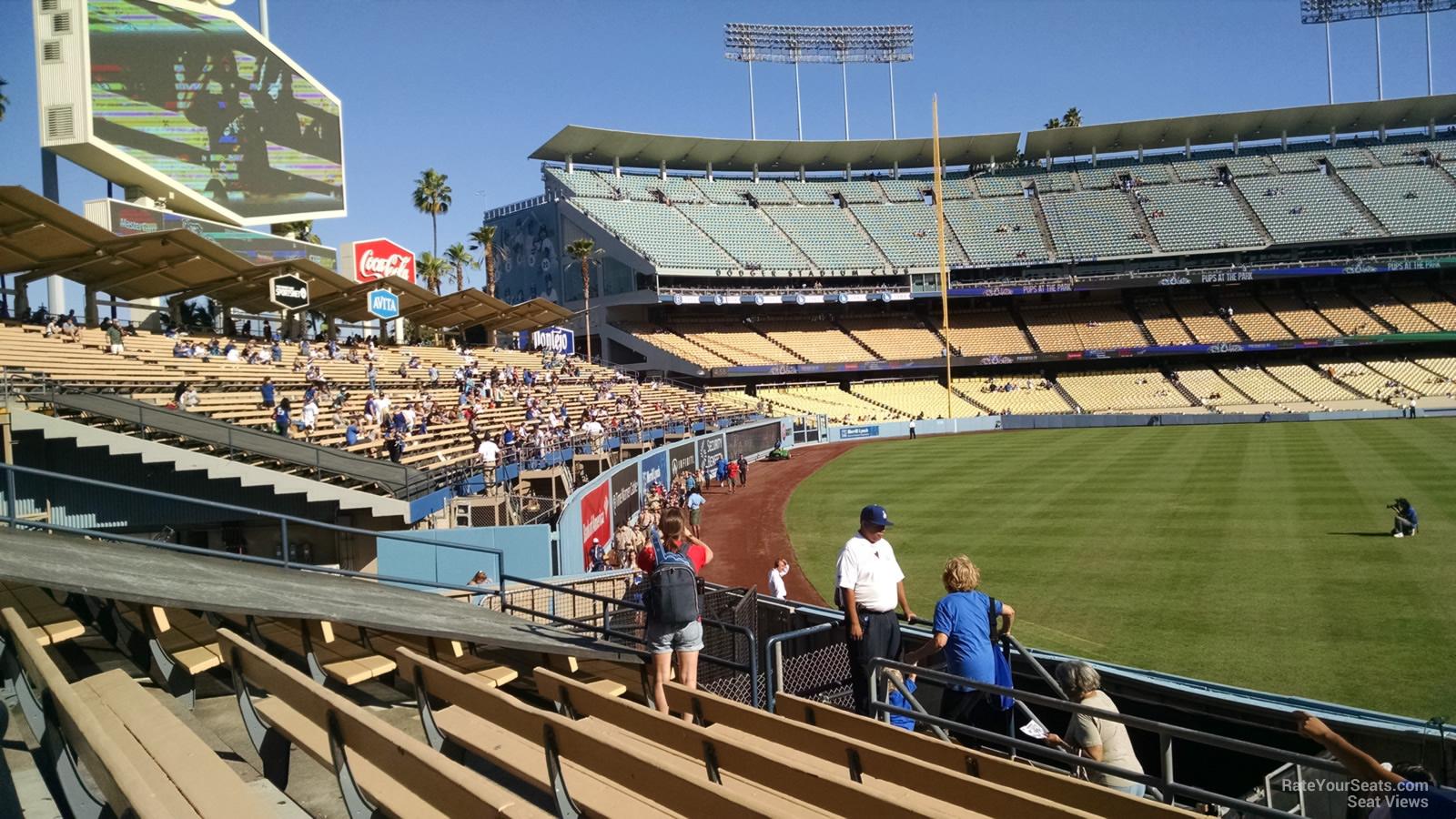 Dodger Stadium Section 313 - RateYourSeats.com