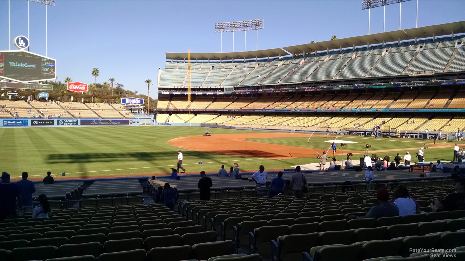 Dodger Stadium Section 35 - RateYourSeats.com