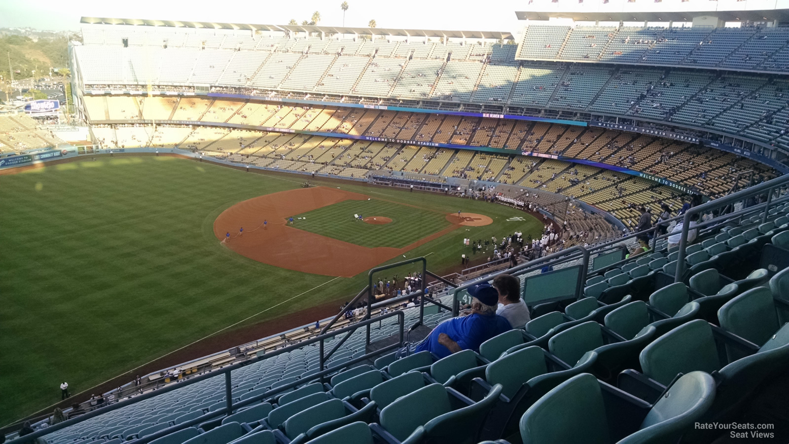 Dodger Stadium Reserve 41 - RateYourSeats.com