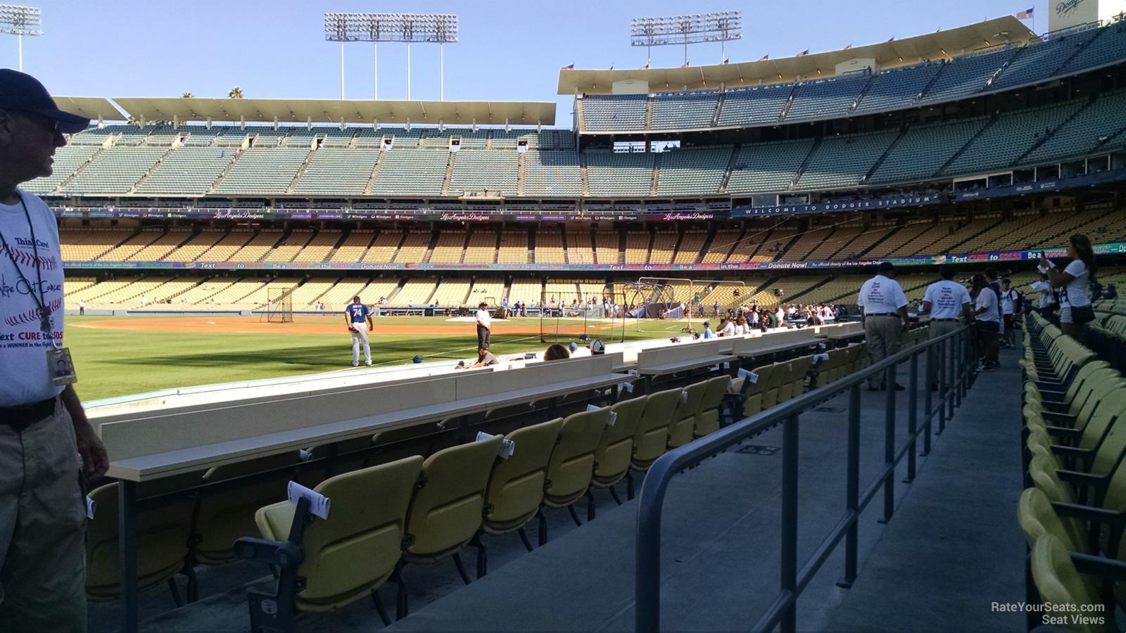 Dodger Stadium Section 45 - RateYourSeats.com