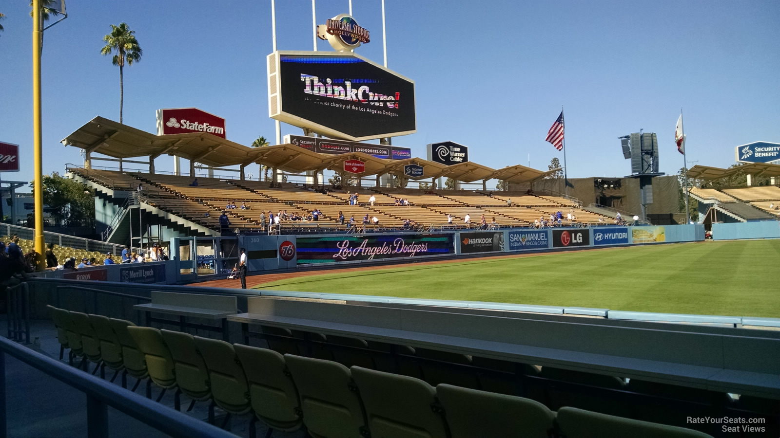 Dodger Stadium Section 45 Rateyourseats Com