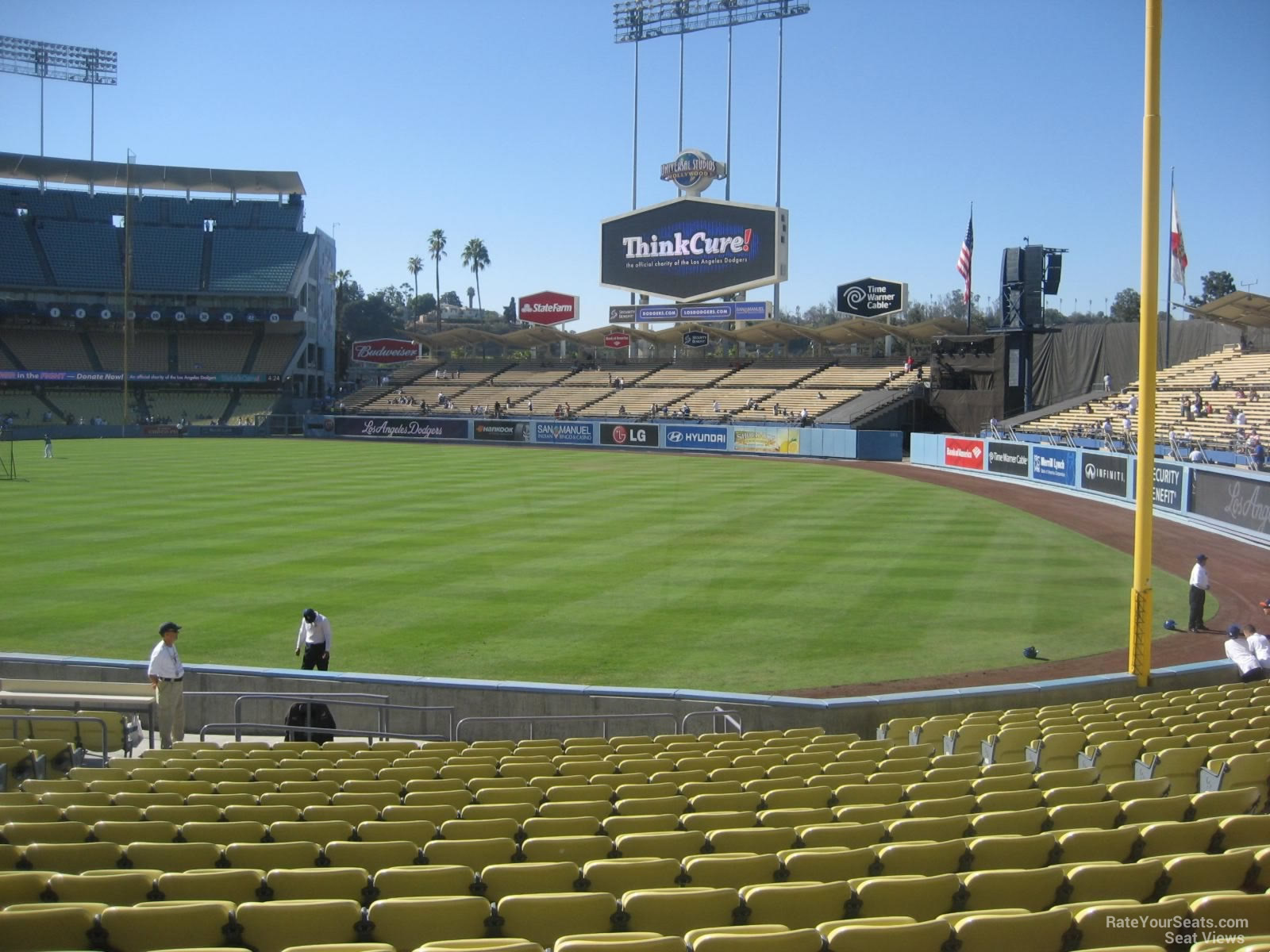 Dodger Stadium Section 46 - RateYourSeats.com