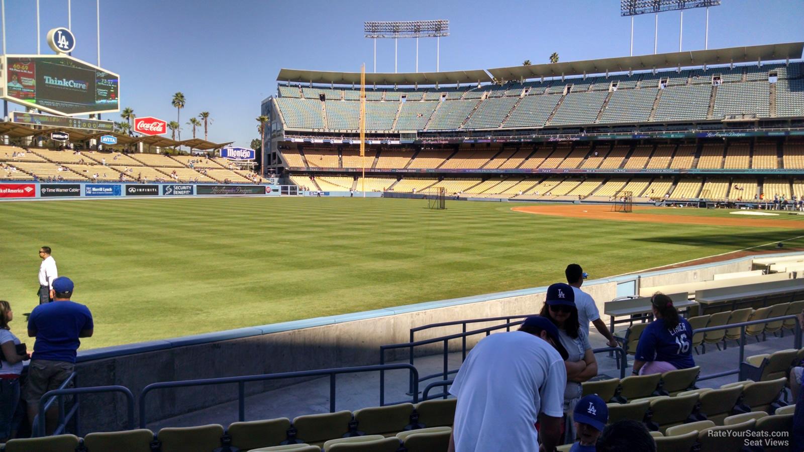 Dodger Stadium Section 47 Rateyourseats Com