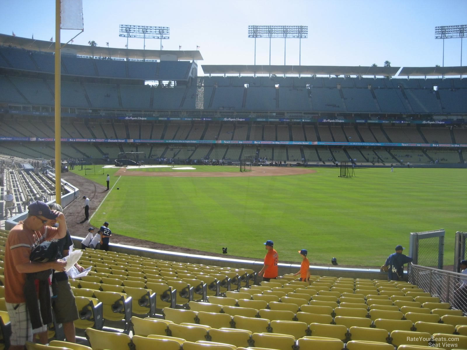 Dodger Stadium Section 52 - RateYourSeats.com