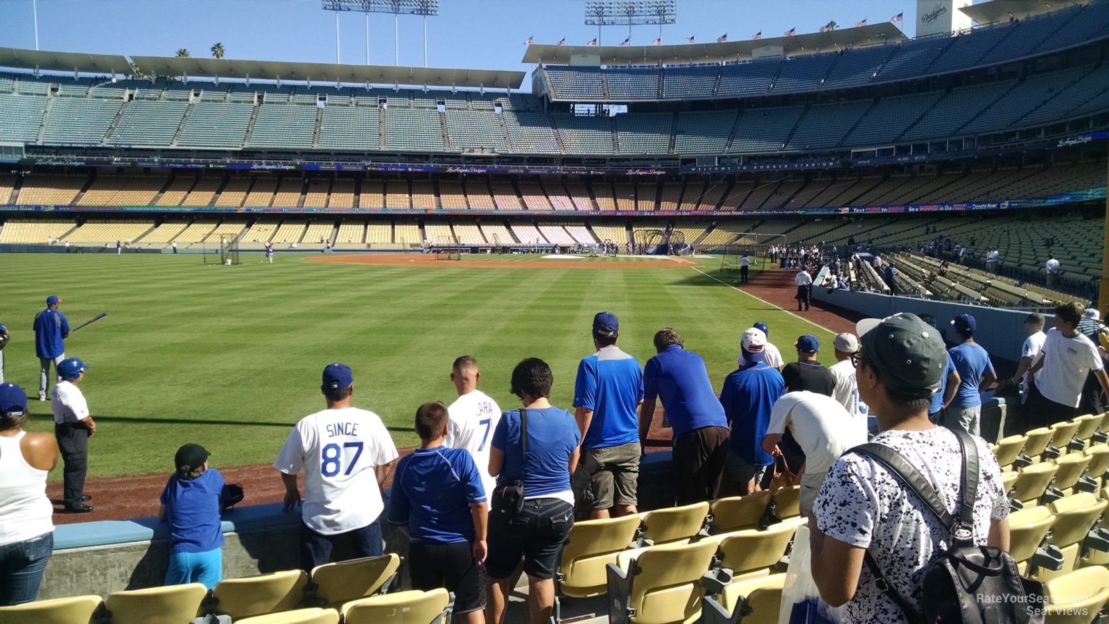 Dodger Stadium Section 53 - RateYourSeats.com