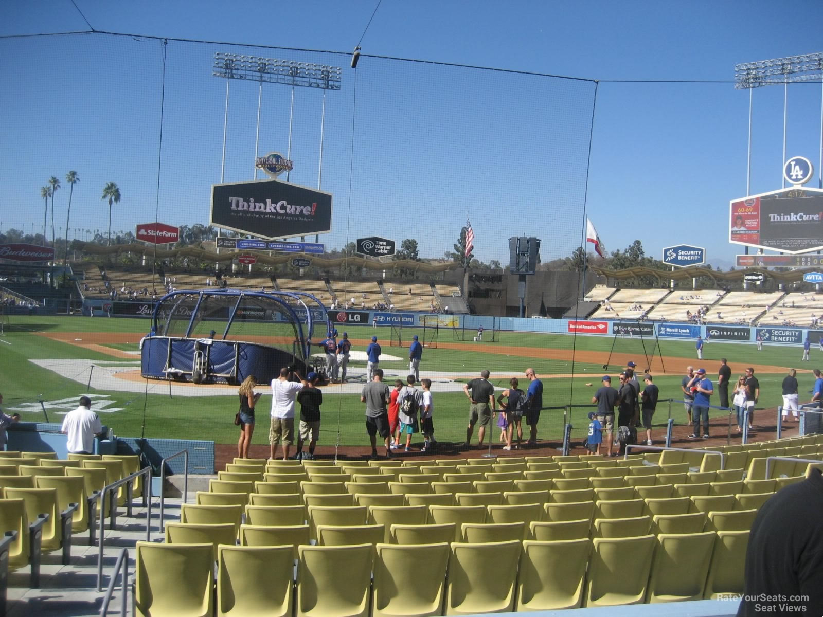 Dodger Stadium Section 6 Rateyourseats Com