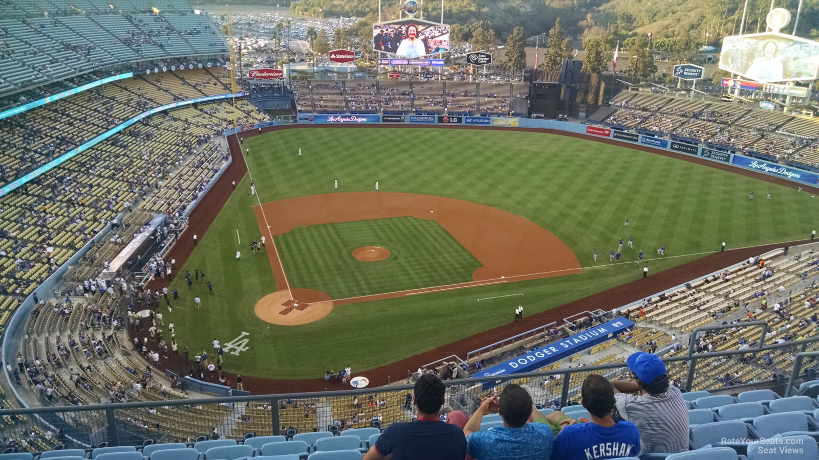 Dodger Stadium Top Deck 8 - RateYourSeats.com