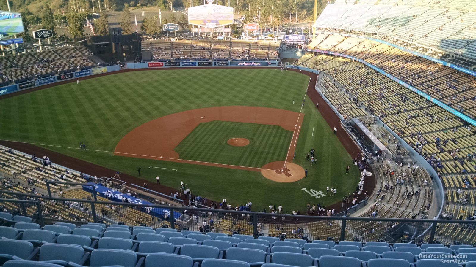 Dodger Stadium Top Deck 9 - RateYourSeats.com