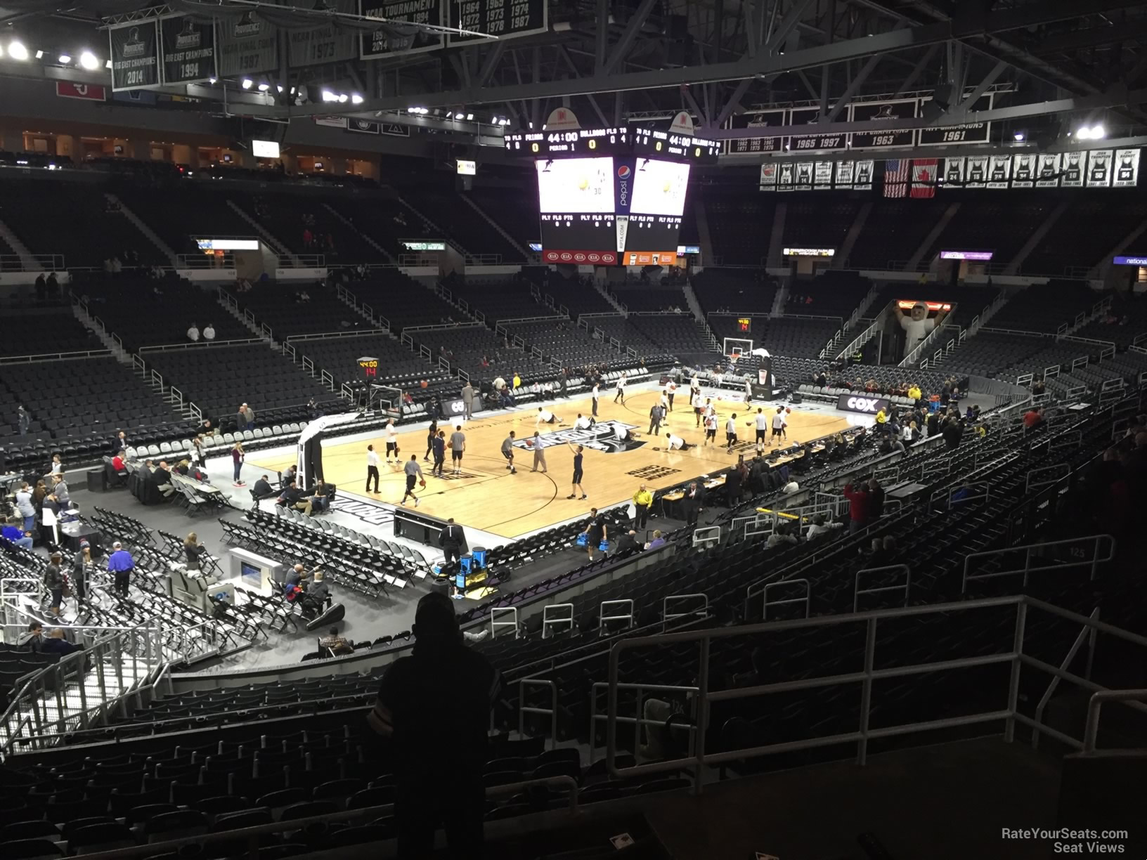 Dunkin Donuts Center Section 236 - Providence Basketball ...