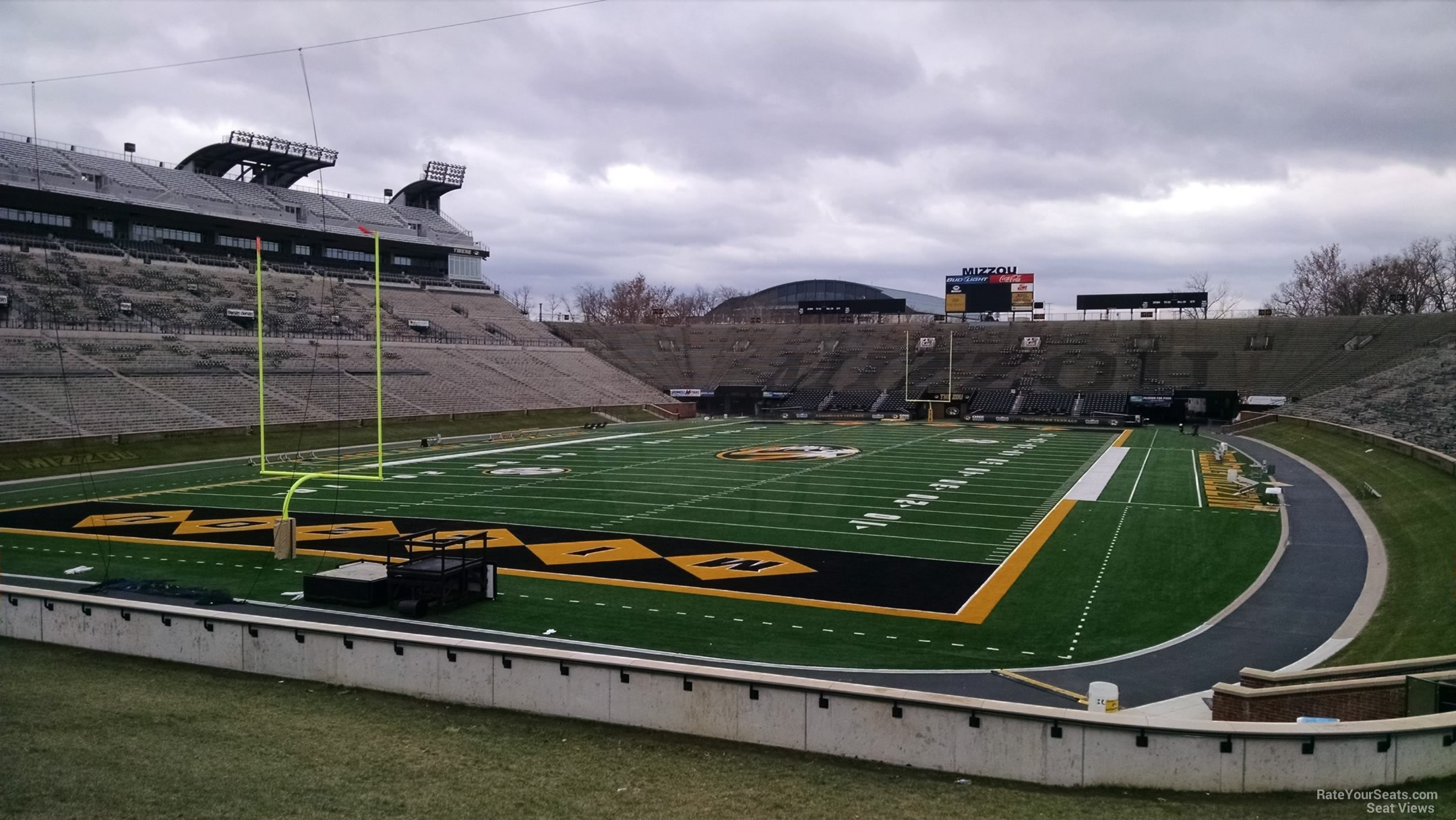 Faurot Field Hill Rateyourseats Com