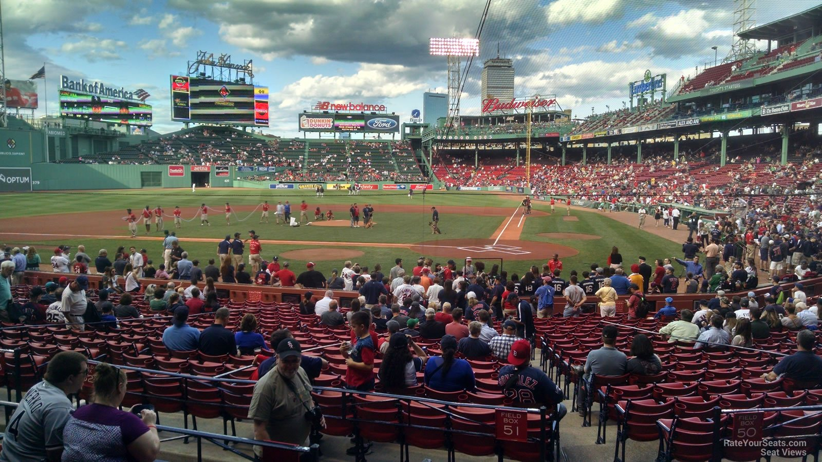 Fenway Park Loge Box 137 Rateyourseats Com