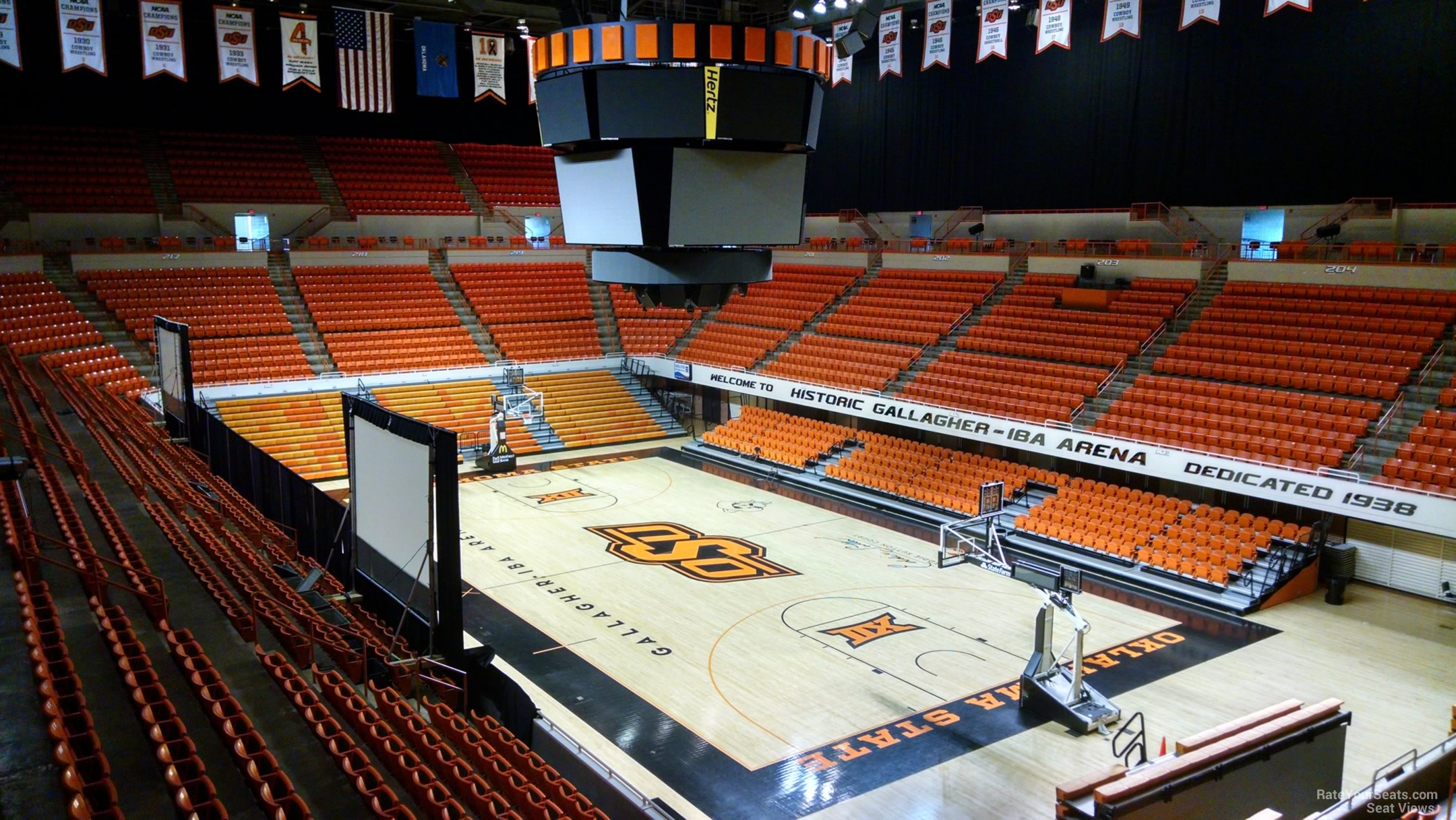 Gallagher Iba Arena Section 210 Rateyourseats Com