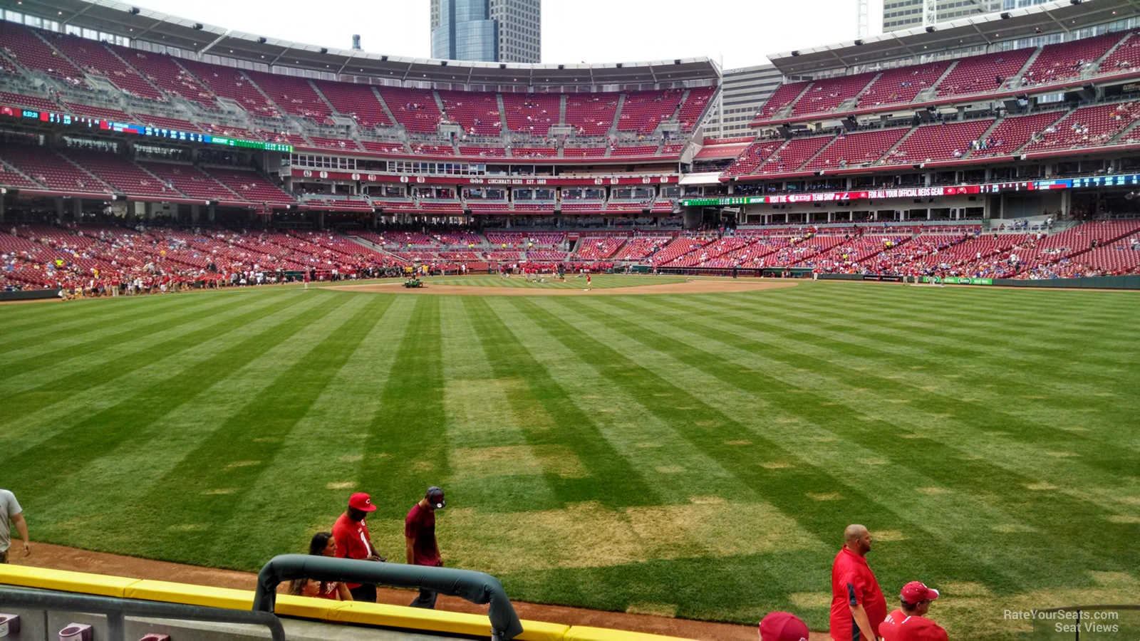 Great American Ball Park Section 146 Cincinnati Reds