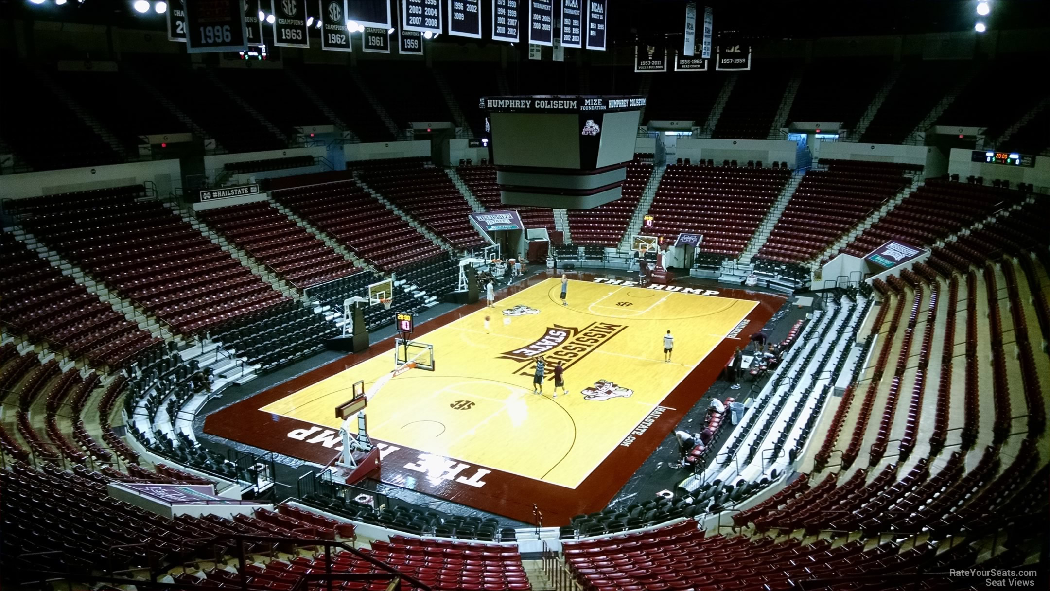 Humphrey Coliseum Section 234 - RateYourSeats.com