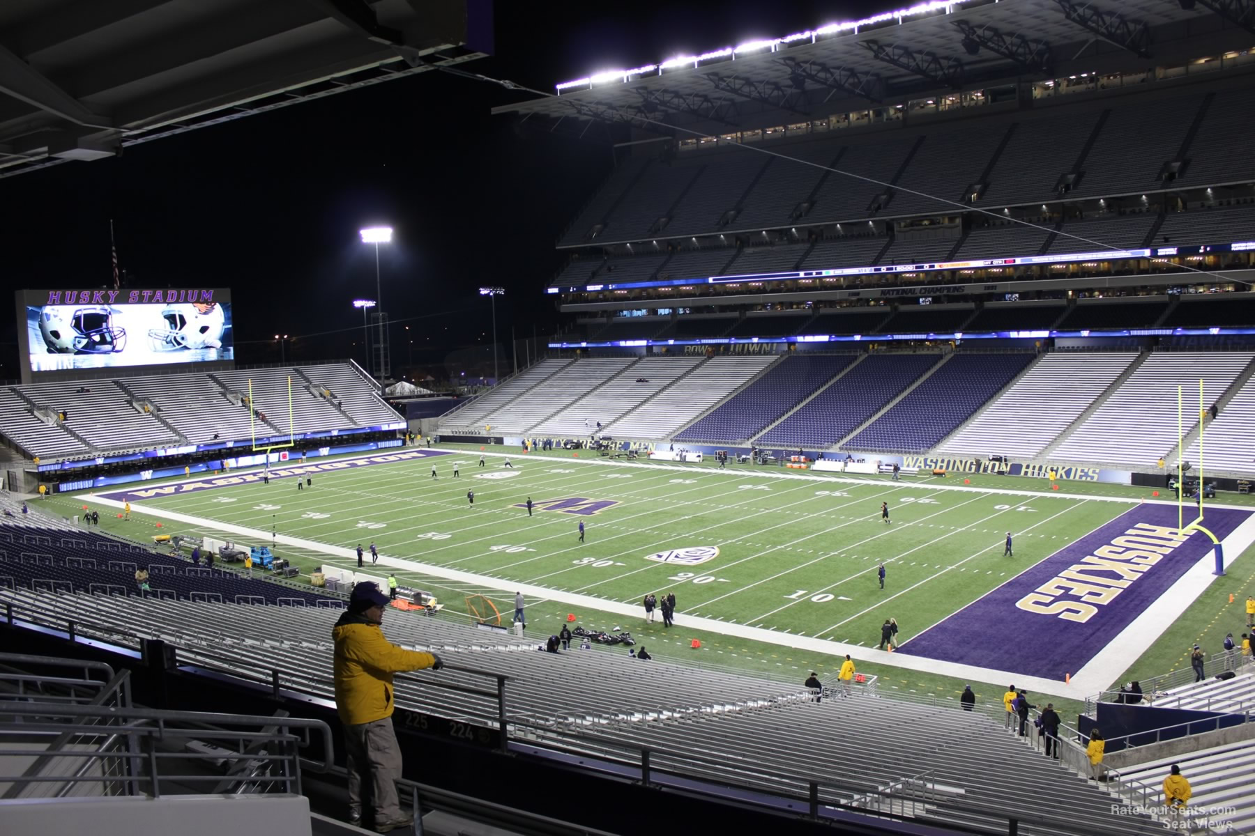 Husky Stadium Seattle Tickets Schedule Seating Chart