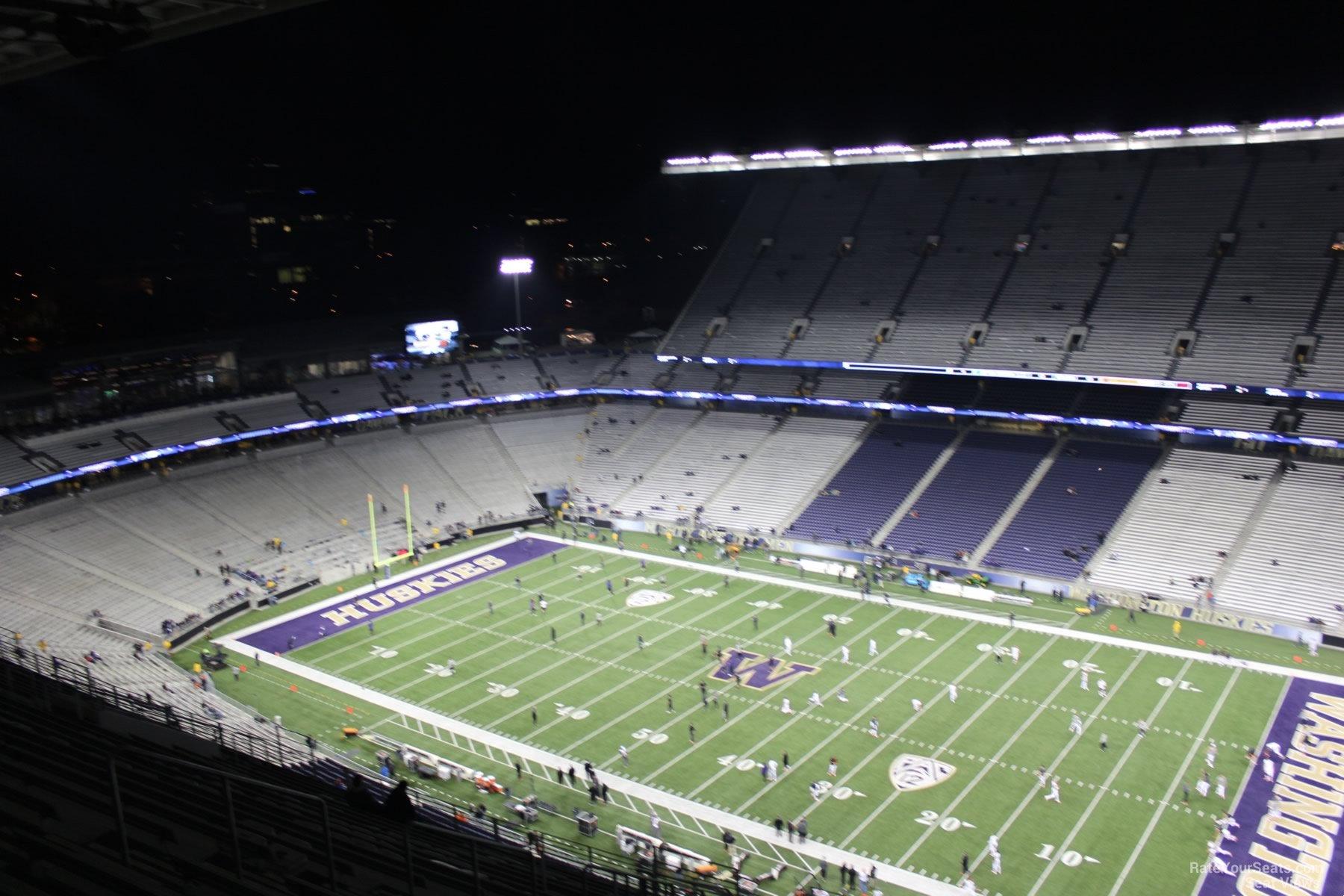 Husky Stadium Section 302 Rateyourseats Com