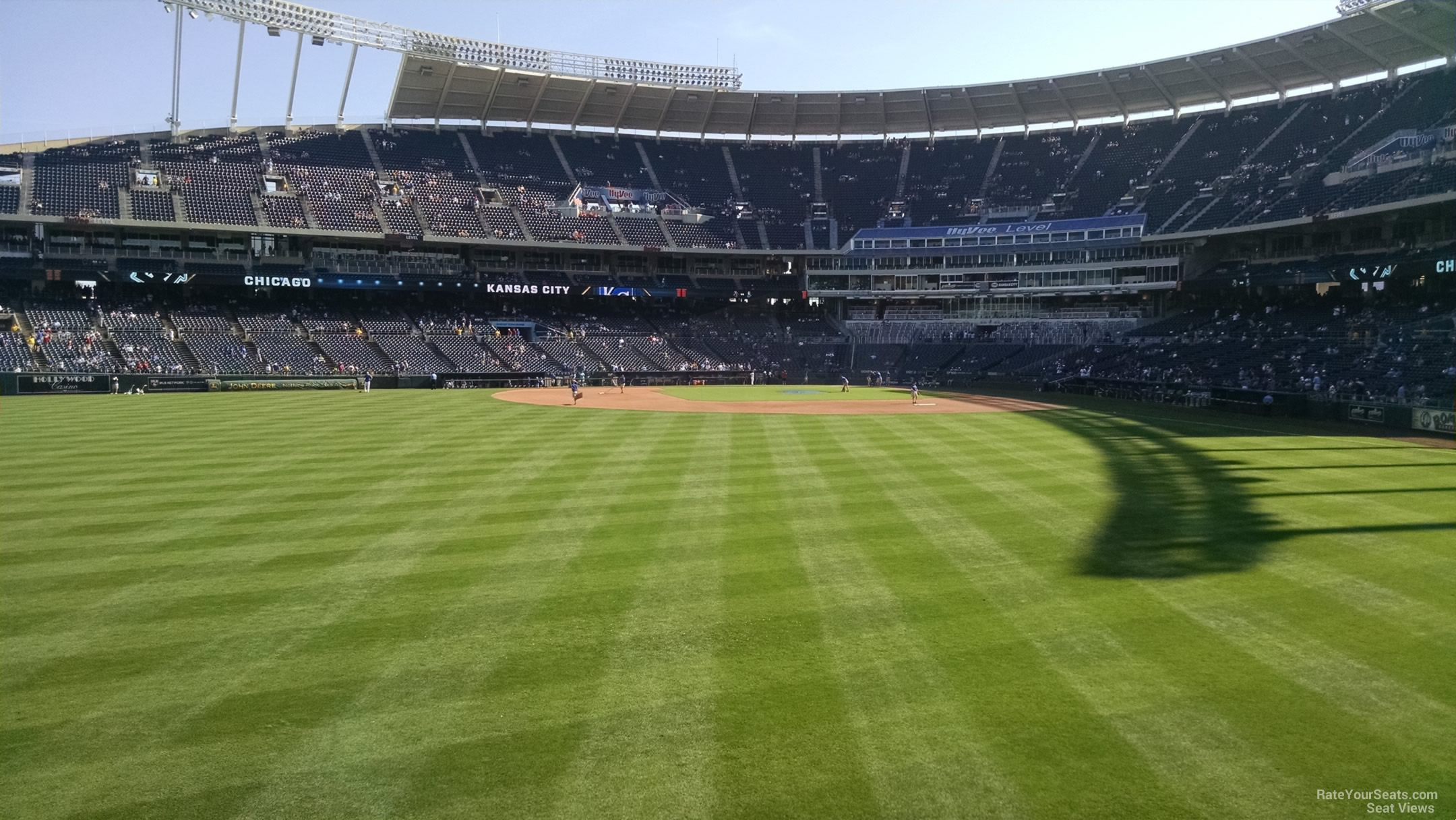 Kauffman Stadium Section 103 - RateYourSeats.com