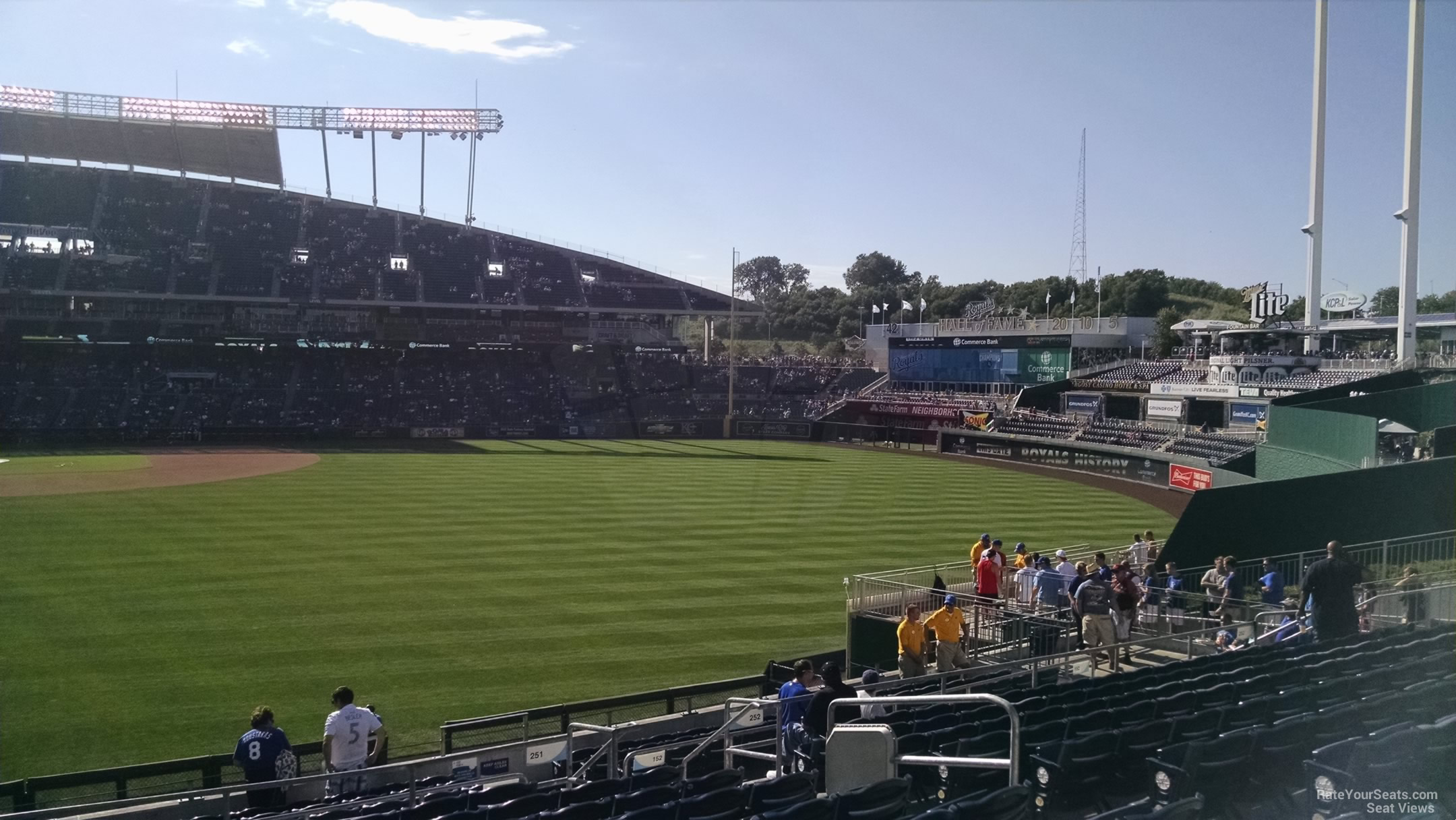 Kauffman Stadium Section 251 - RateYourSeats.com