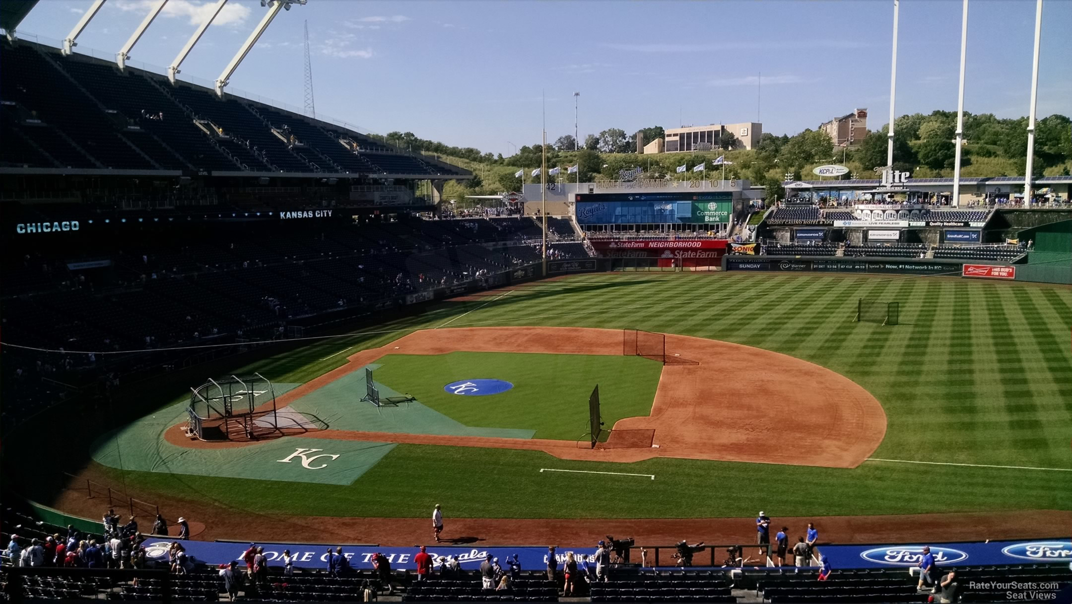 Kauffman Stadium Section 317 - RateYourSeats.com