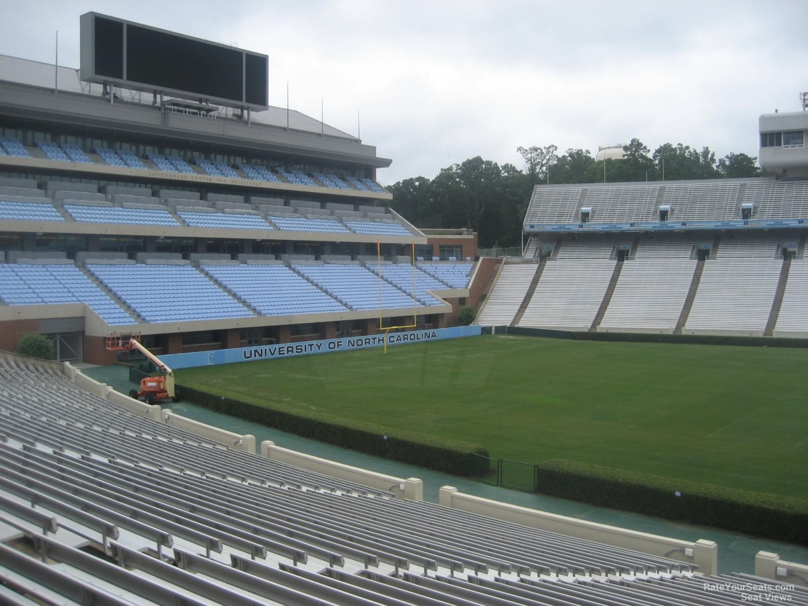 Triple Aaa Number >> Kenan Memorial Stadium Section 106 - RateYourSeats.com