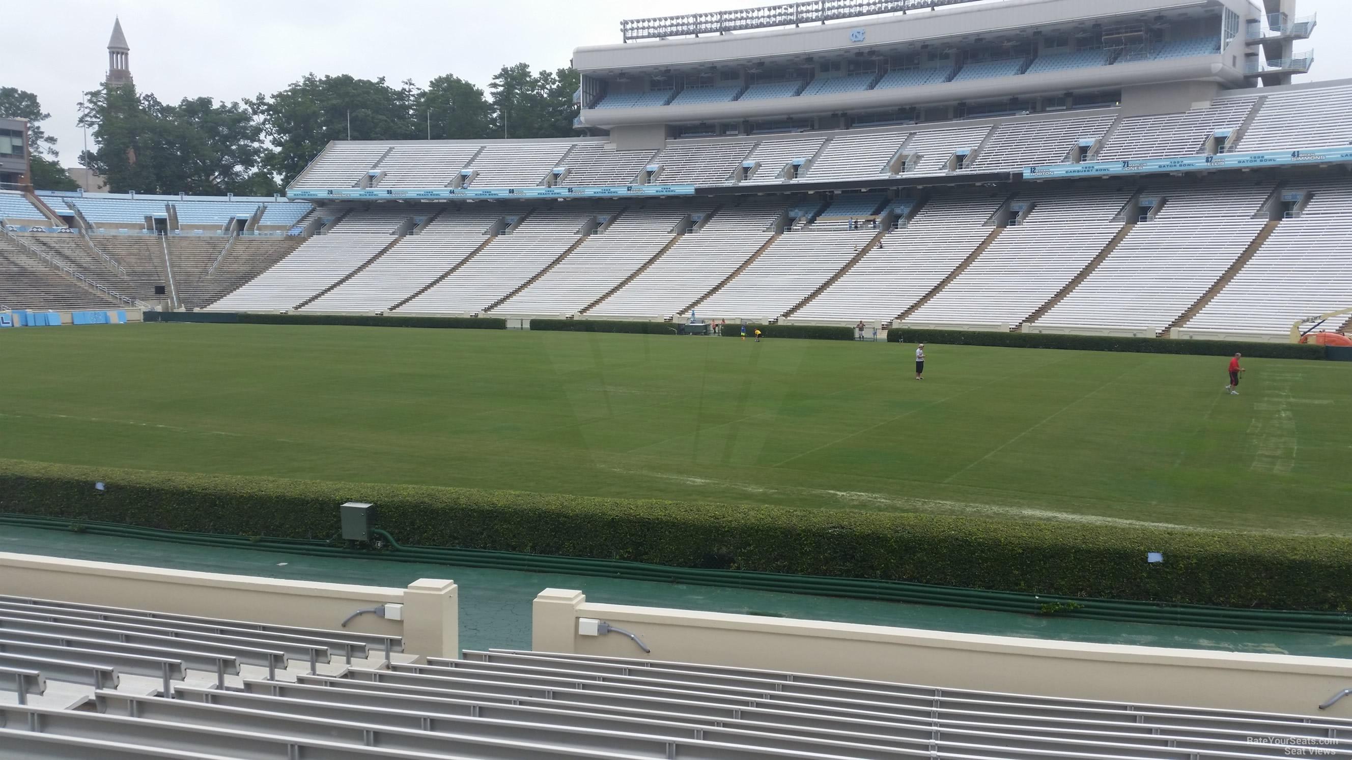 Triple Aaa Number >> Kenan Memorial Stadium Section 129 - RateYourSeats.com