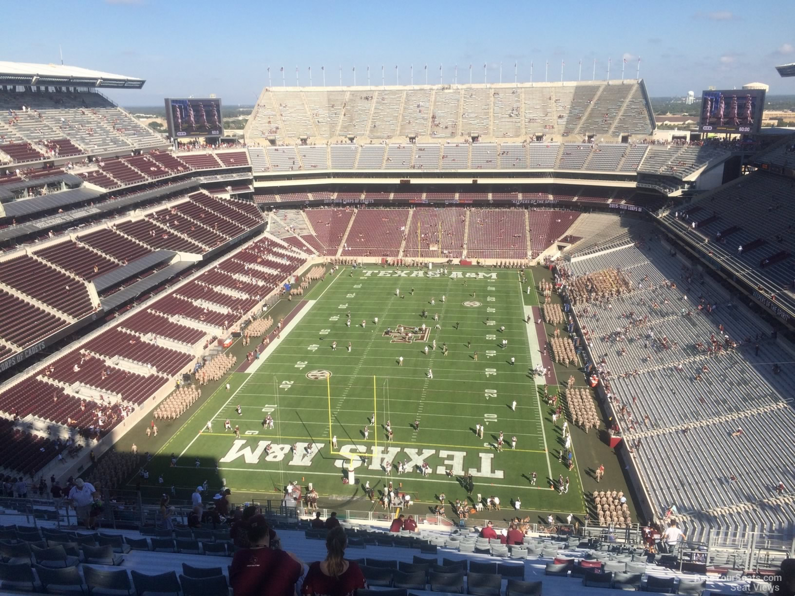 Kyle Field Section 345 Rateyourseats Com