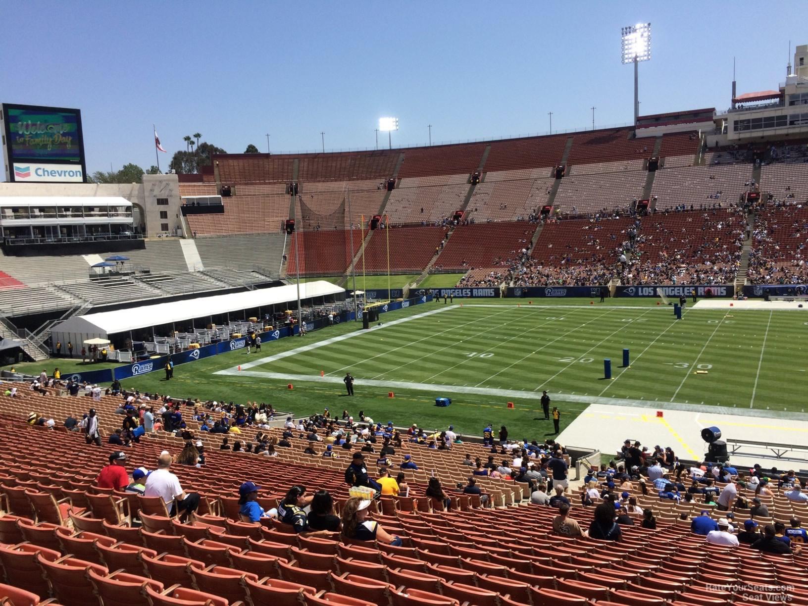 Los Angeles Memorial Coliseum Section 23 - RateYourSeats.com
