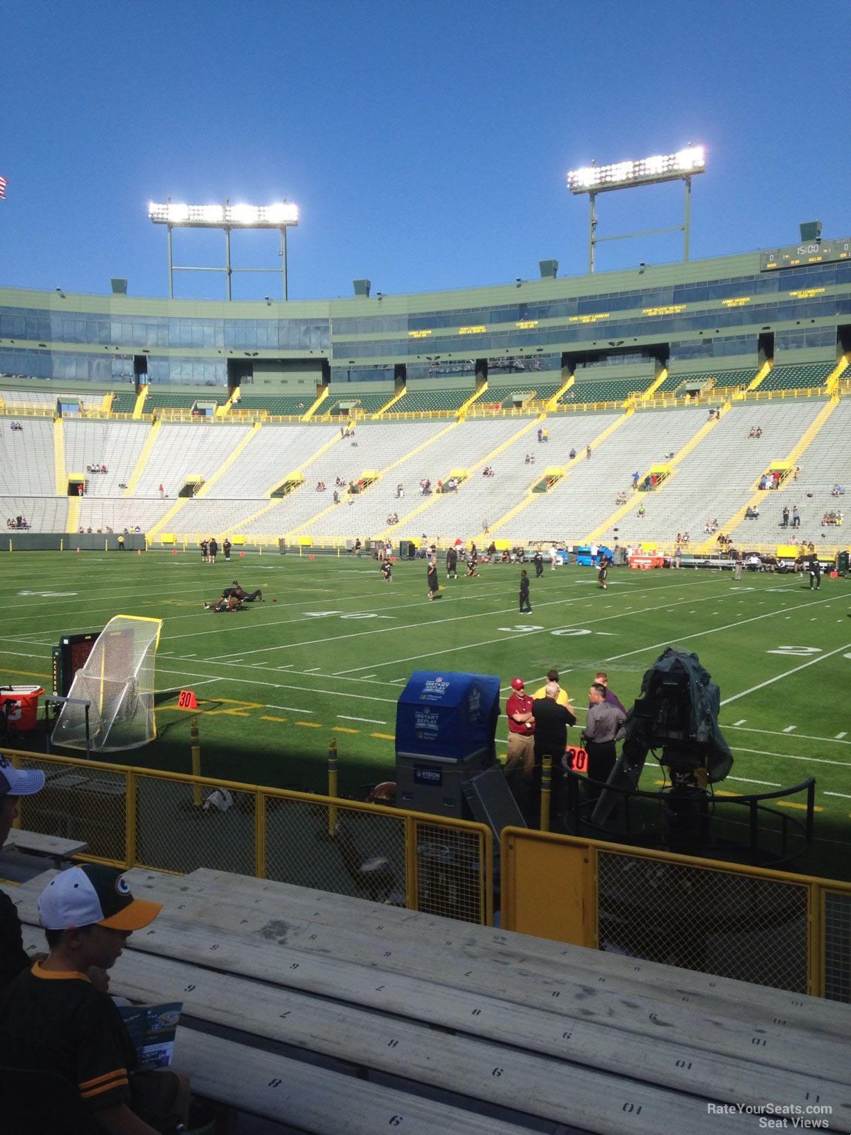 Lambeau Field Section 126 - RateYourSeats.com