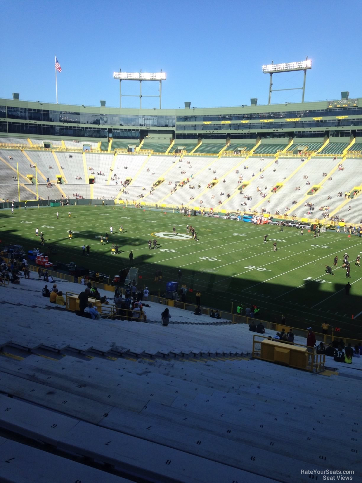 Lambeau Field Section 130 - Green Bay Packers ...